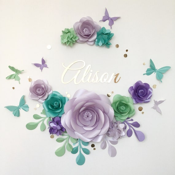 Charming paper flower arrangement paper flowers over the etsy image 0 mightylinksfo
