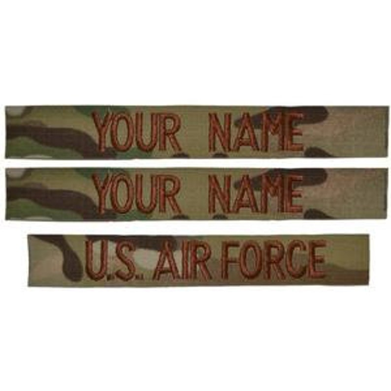 Custom Air Force OCP Scorpion Nametape image 0
