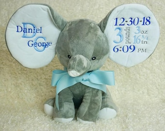Custom Embroidered Elephant
