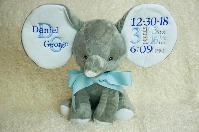 Custom Embroidered Elephant image 0
