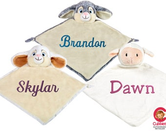 Custom Embroidered Blankie - Cubbies