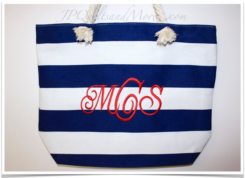 Custom Embroidered Tote image 0