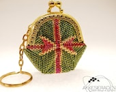 English pattern for the Cristmas present coin purse