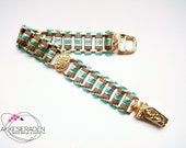 English pattern for the Egypt princess bracelet