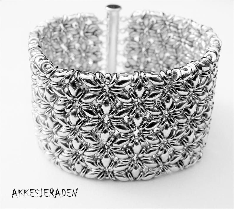 English pattern for the O-Mosaic bracelet image 0