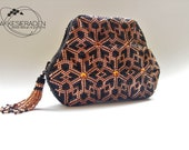 English pattern for the zipper coin purse Tassel