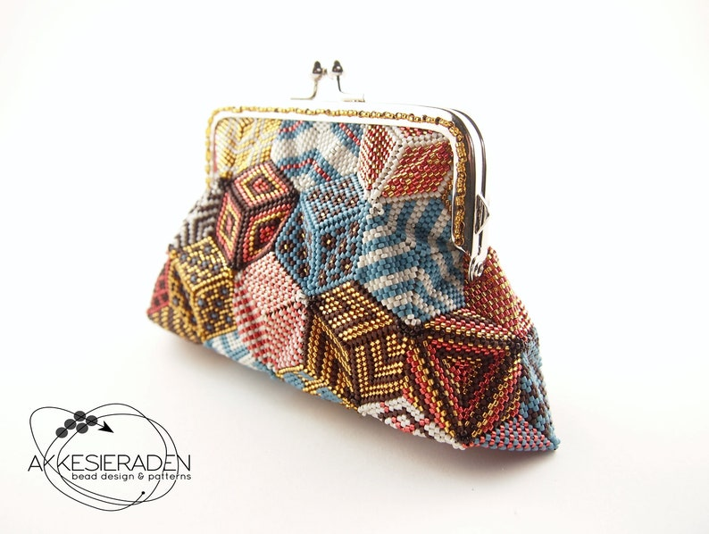 Englisch explanation on how to make an patchwork coin purse image 0