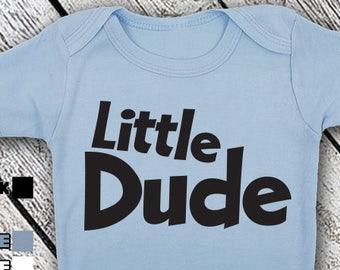 Bodysuit or Toddler Shirt, Little Dude, Baby Bodysuit, Baby Shower Gift, Girls, Boys