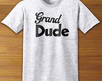 Grandpa Grand Dude Adult Shirt
