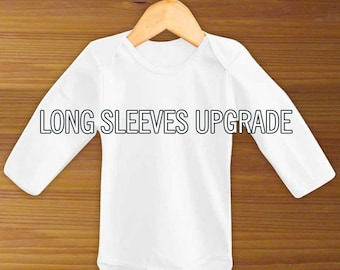 Long Sleeve Baby Bodysuit Upgrade