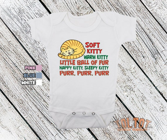 Soft Kitty Warm Kitty Little Ball of Fur Fashion Toddler Clothes