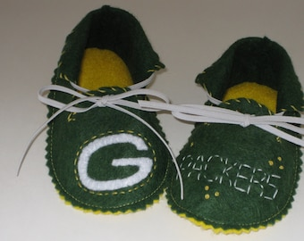 Green Bay Packers Baby Bootie