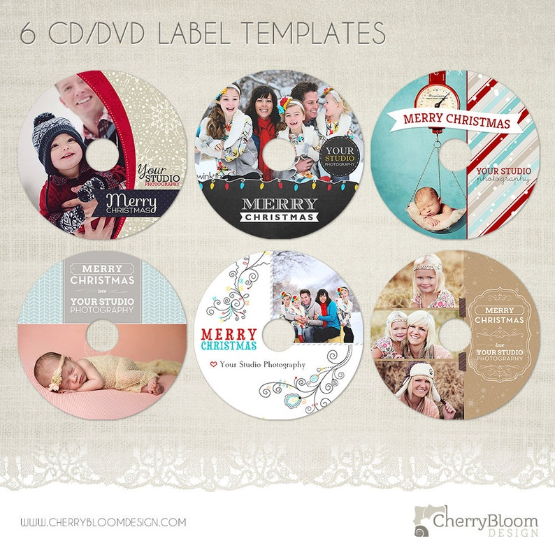 photography cd labels