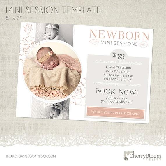 Newborn Mini Sitzung Vorlage Für Fotografen Ms26 Etsy