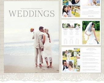 Weddings Magazine Template for Photographers - Mag02 - Wedding Day