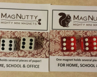 Dice: Super-Strong MagNutty Magnets