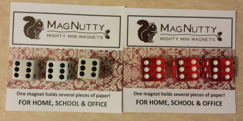 Dice: Super-Strong MagNutty Magnets image 0