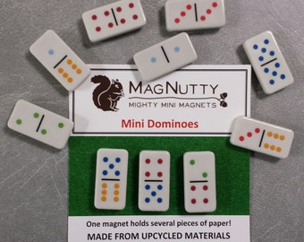 Mini Dominoes: Super-Strong MagNutty Magnets