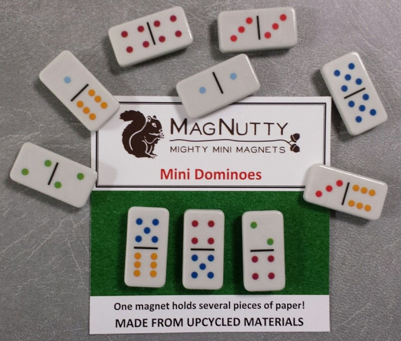 Mini Dominoes: Super-Strong MagNutty Magnets image 0