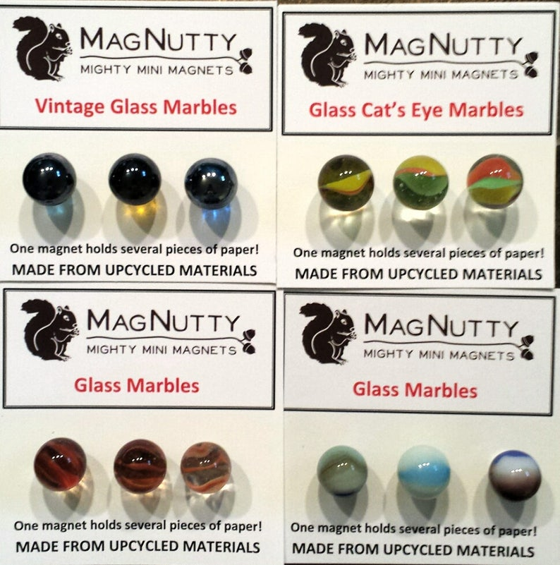 Glass marbles: Super-strong MagNutty magnets image 0