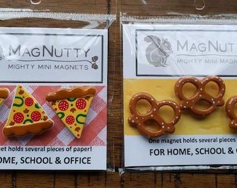 Pretzel, Pizza, Apples super-strong magnets