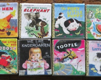 Classic Golden Books Mini Magnets - 3 Pack