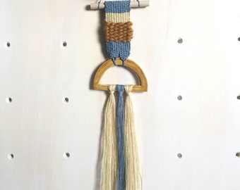 """Woven Wall Hanging """"Mountains"""""""