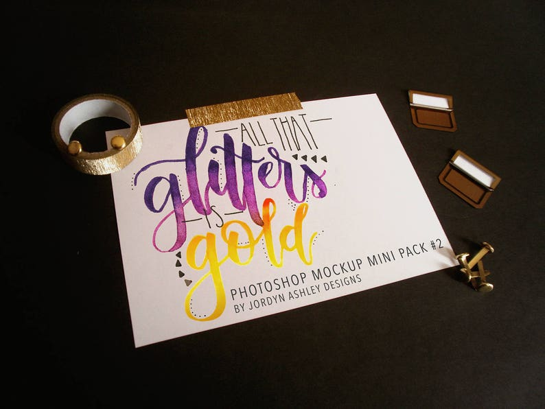 All That Glitters is Gold Mini Pack 2 image 0