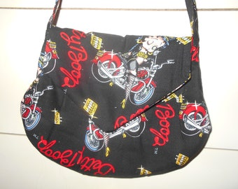73801acb16 Sac à main Betty Boop motocyclette modèle sac à main