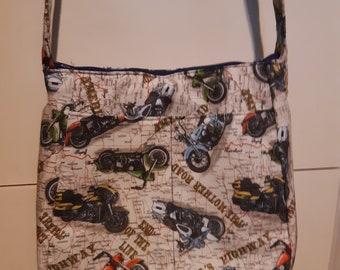 Motorcycle Fabric Bag/Purse