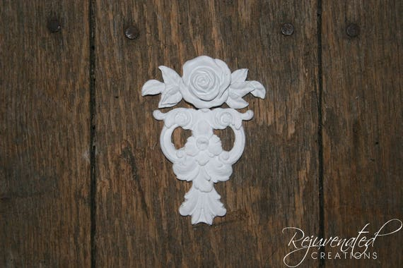 Diy shabby chic appliques furniture appliques onlays etsy