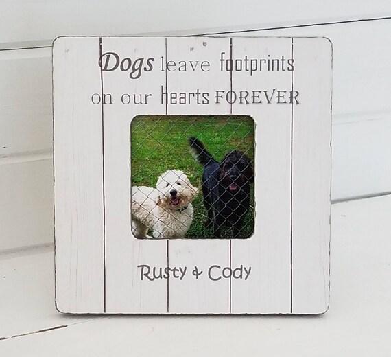 Personalized dog frame pet memorial pet frame dog | Etsy