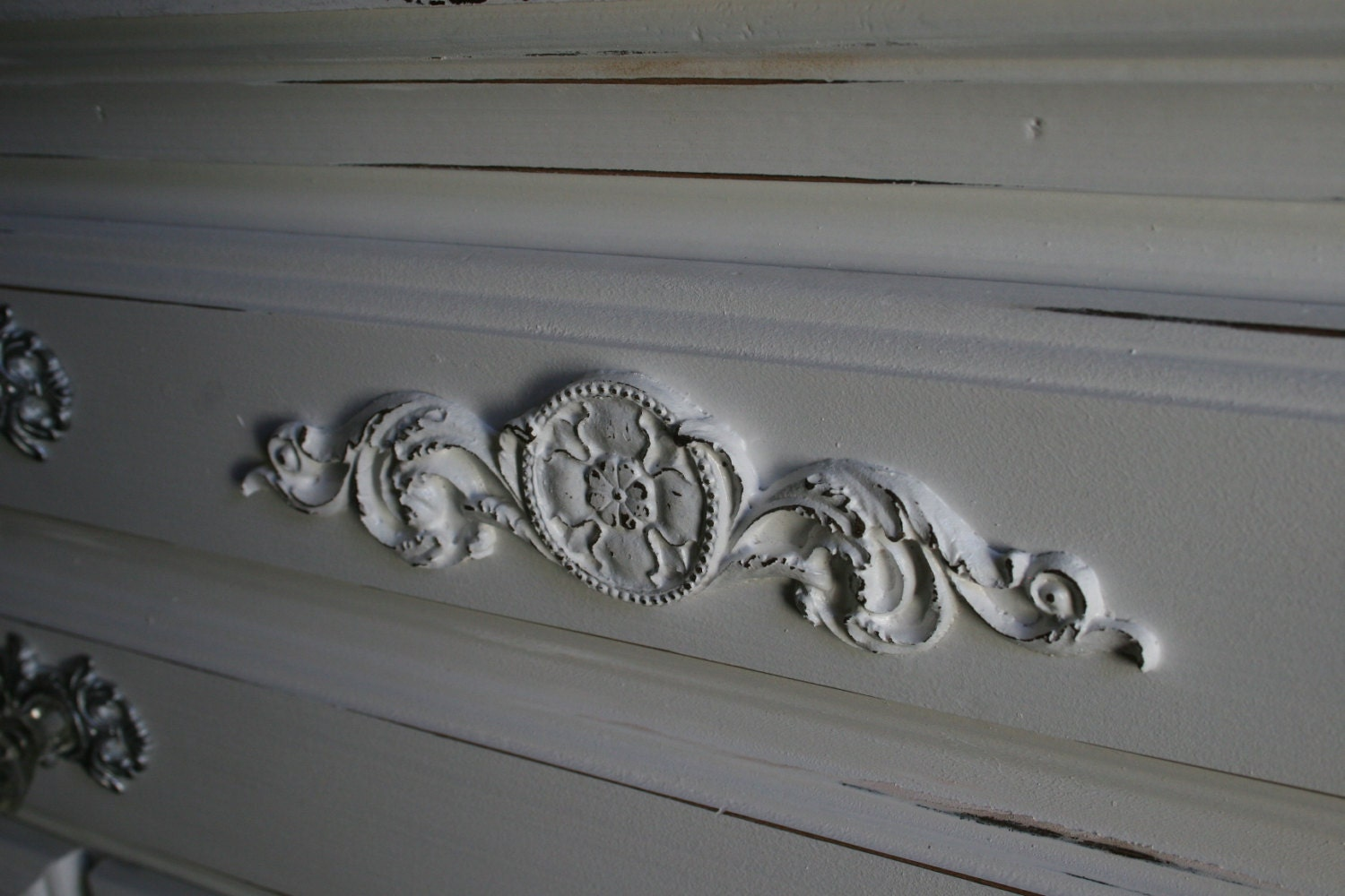 Appliques for furniture Dresser Etsy Diy Shabby Chic Applique Furniture Applique Onlay Etsy