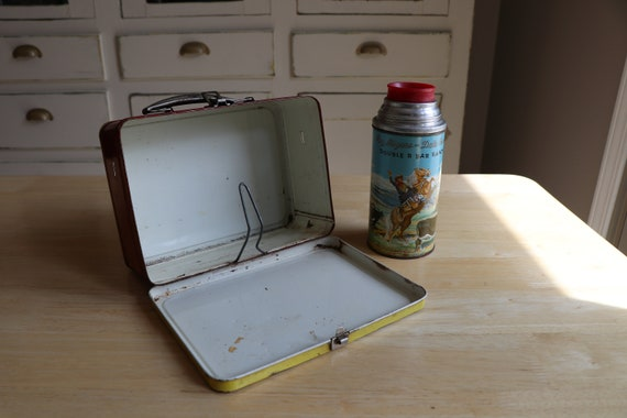 Vintage Roy Rogers Dale Evans Lunchbox with Therm… - image 2
