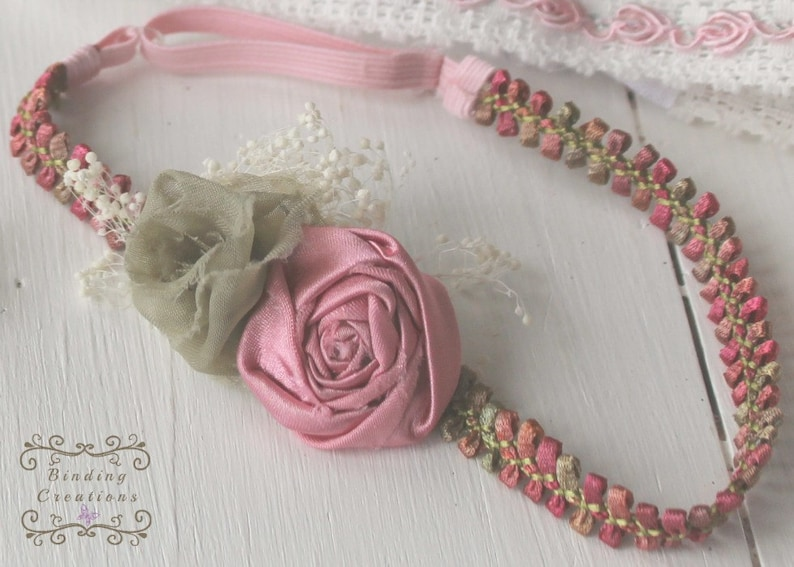 baby headband Floral headband