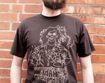 cda3c89ad7cdd FRANK ZAPPA mères d Invention à la main peint culte emblématique Pop Art  Rock psychédélique bande T-shirt