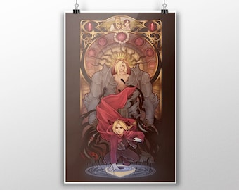 "Fullmetal Alchemist: Brotherhood - ""Equivalent Exchange"" signed art prints"