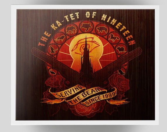 The Ka-Tet of Nineteen signed Poster Art Print - 11x14
