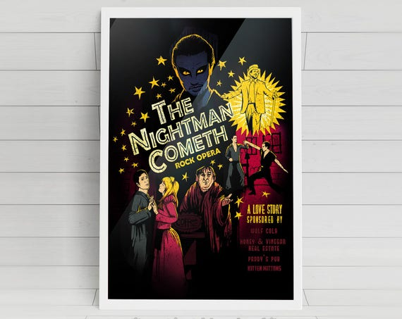 The Nightman Cometh signed art prints