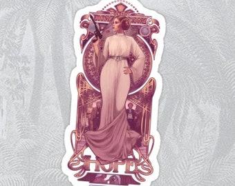 HOPE - Princess Leia sticker