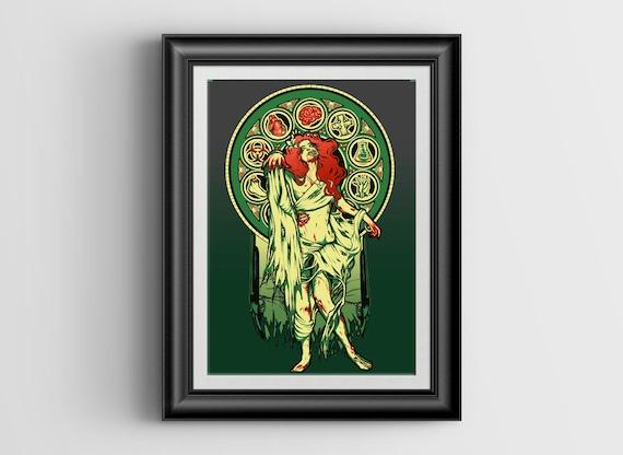 Zombie Nouveau signed art prints