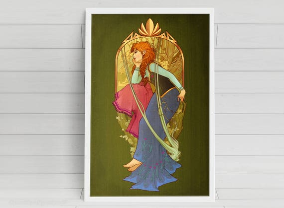 For the First Time in Forever - Anna - signed art prints