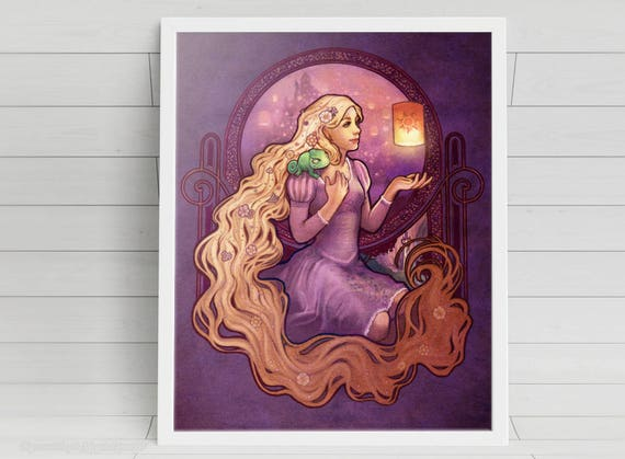 A New Dream - Rapunzel - signed art prints