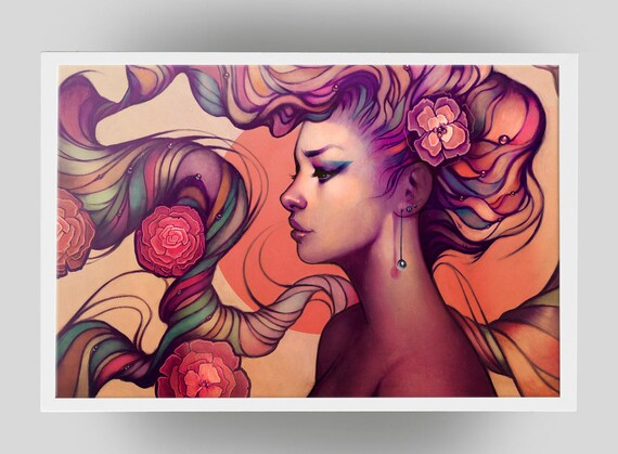 Leah - signed art prints