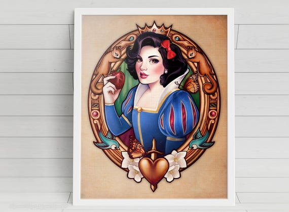 The Fairest - Snow White signed art prints