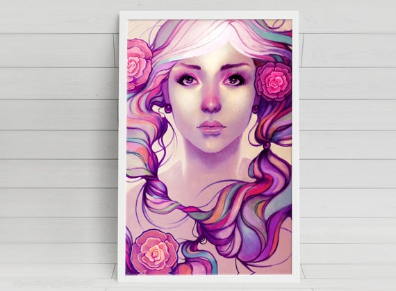 Caira - signed art prints
