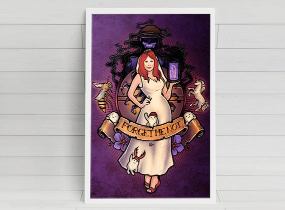 Forget Me Not - Donna Noble - signed art prints