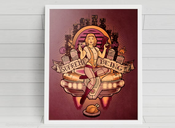 Supreme Being signed Poster Art Print - 11x14