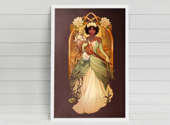 Almost There - Tiana - signed art prints
