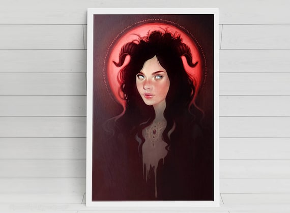 Blood Moon - signed art prints